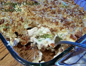 Company Chicken Casserole