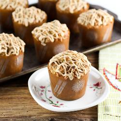 Pineapple Coconut Caramel Muffins