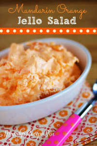 Mandarin Orange Jello Salad