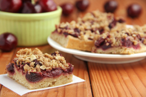 Cherry Crumble Bars 2