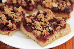 Cherry Crumble Bars 4