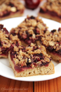Cherry Crumble Bars 6