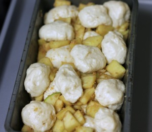 Gooey Apple Pull-Apart Bread