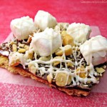 Rocky Road Graham Cracker Candy Bark