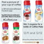 Facebook Contest Coffee-Mate