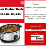 Slow Cooker Week Logo
