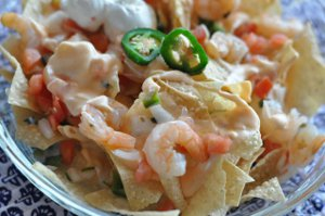 Copycat Red Lobster Shrimp Nachos