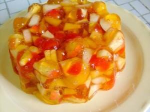 Jellied Fruit Mold