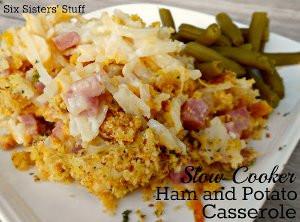Slow-Cooker-Ham-and-Potato-Casserole