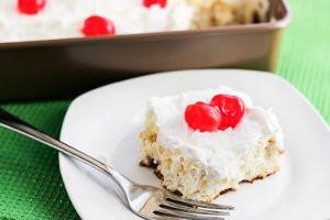 Skinny-Pina-Colada-Poke-Cake