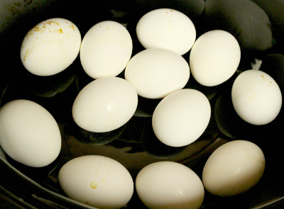Slow Cooker Hard Boiled Eggs - Step 3