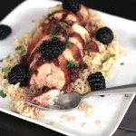 Slow Cooker Blackberry Chicken