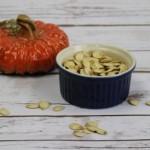 Homemade Roasted Pumpkin Seeds