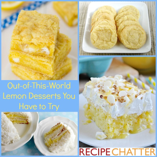 Lemon Dessert Recipes You Have to Try