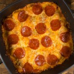 Bubble Up Pizza Casserole