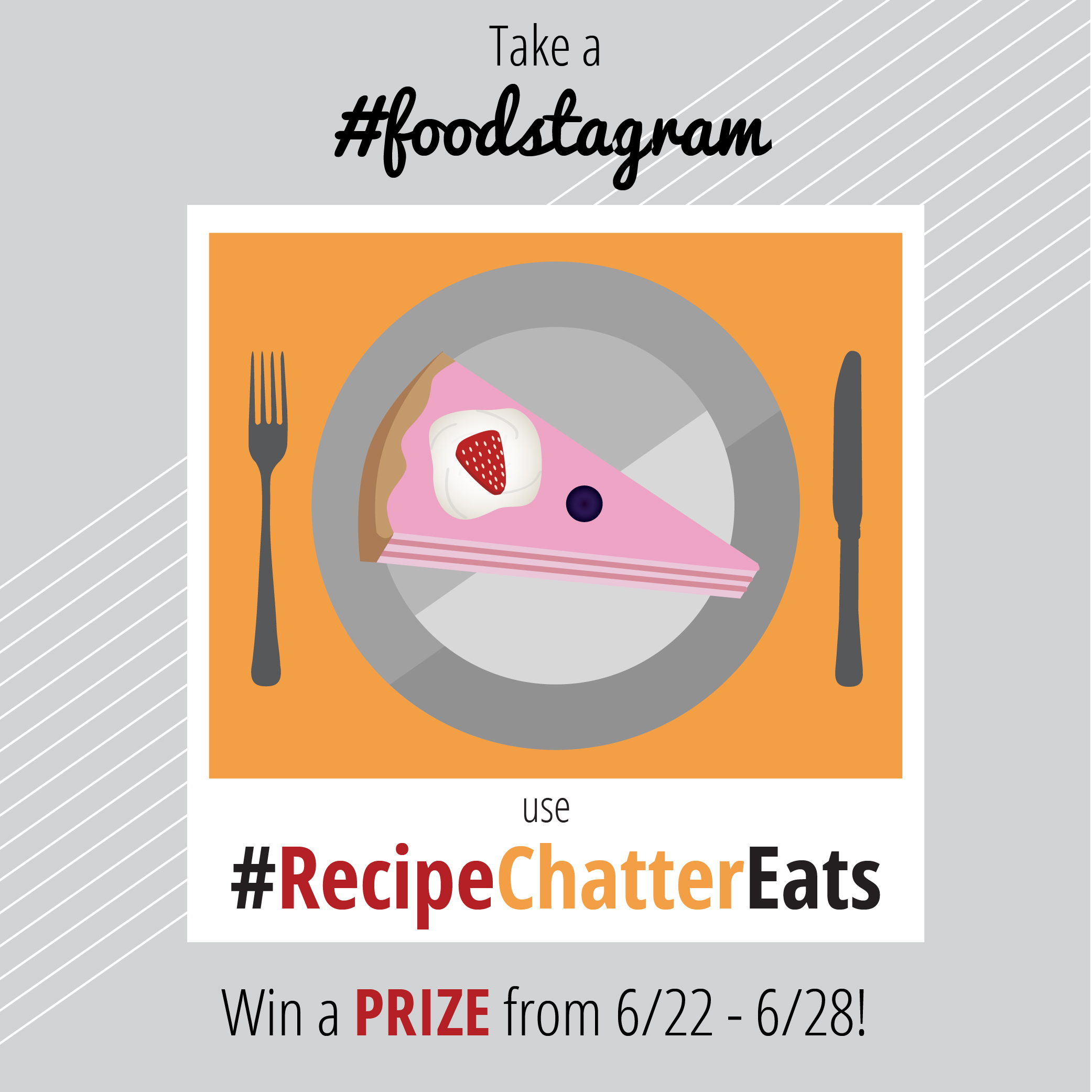 RecipeChatter's First Instagram Giveaway