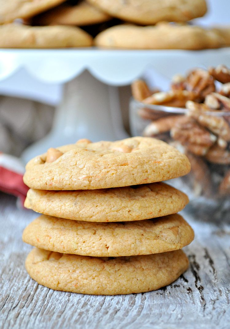 Butterscotch Pecan Cake Mix Cookies - RecipeChatter