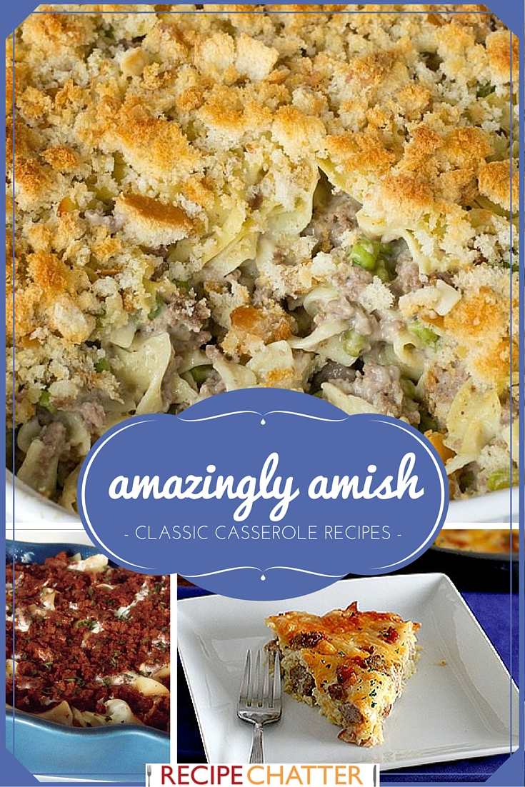 Amish Casserole Recipes