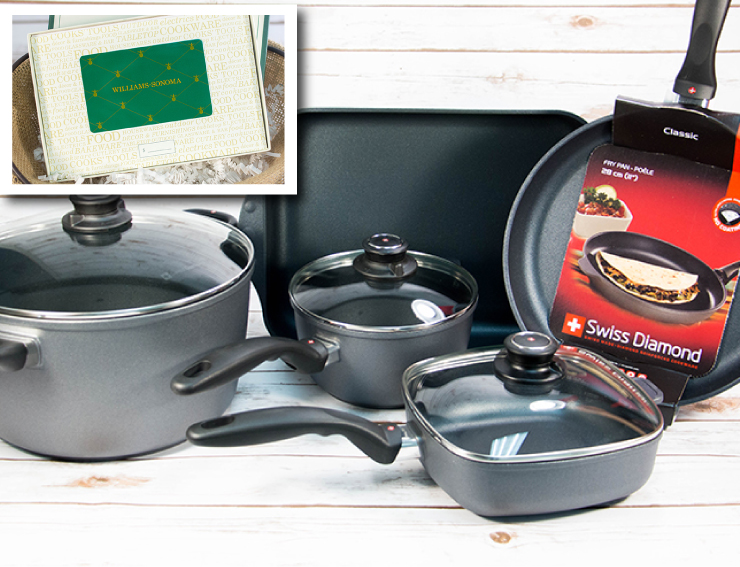 Dream Cookware Grand Prize Swiss Diamond USA Pears