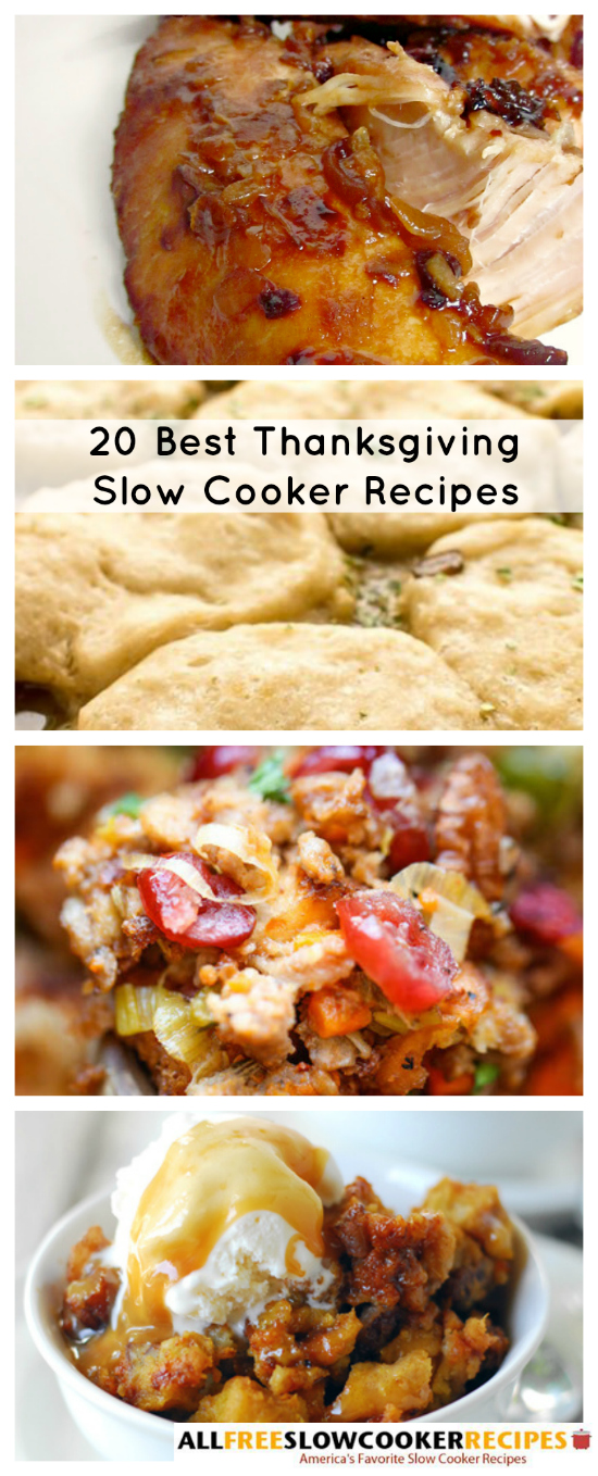Best Thanksgiving Slow Cooker Recipes