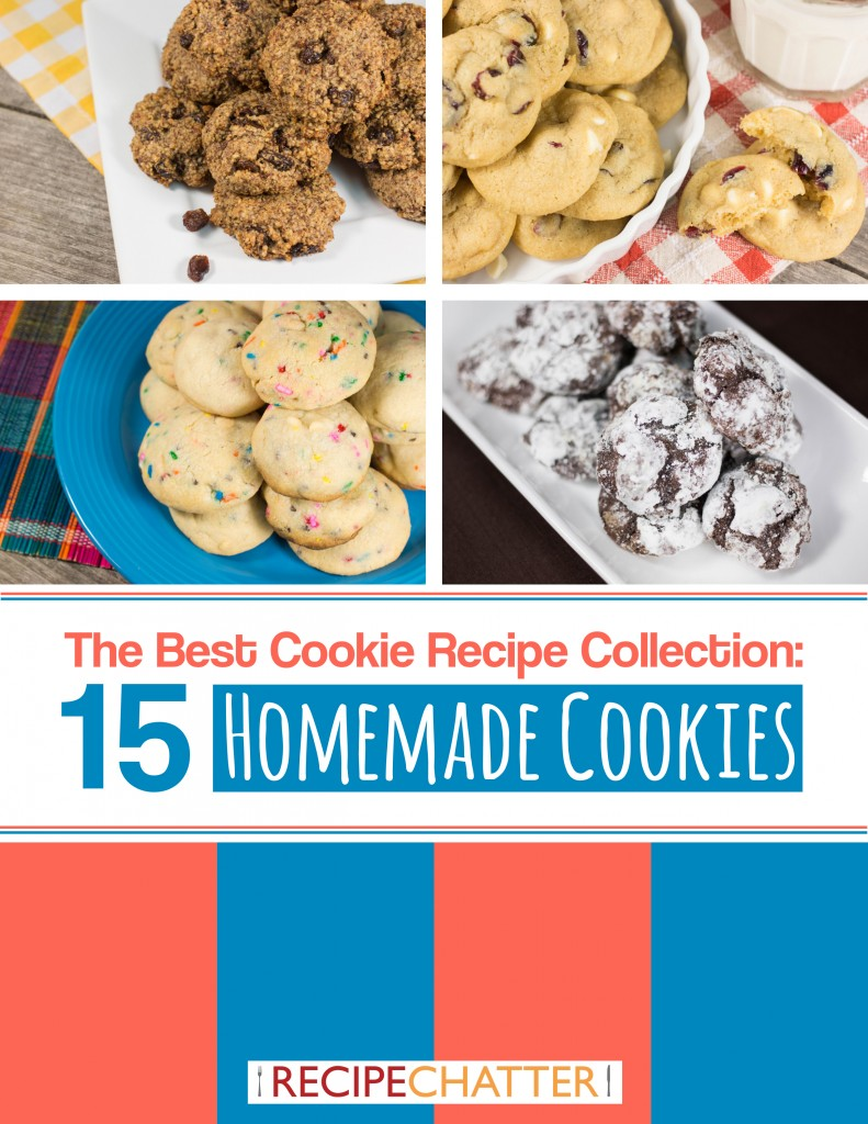 15 Homemade Cookies Cover
