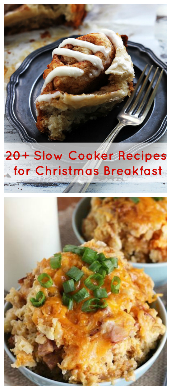 20 slow cooker recipes for christmas breakfast for Slow cooker breakfast recipes for two