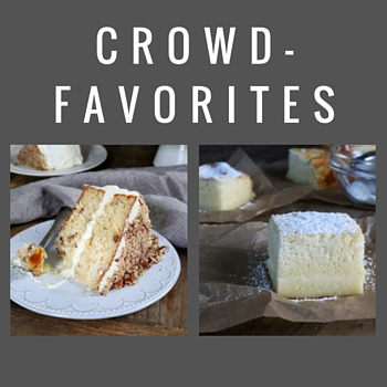 Crowd-Favorite Cakes