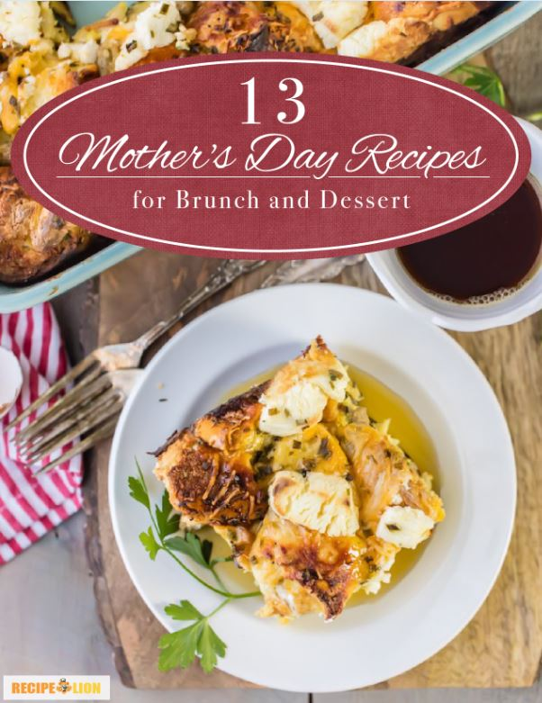 13 Mother's Day Brunch and Breakfast Recipes eBook