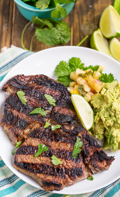 Zesty Margarita Steak
