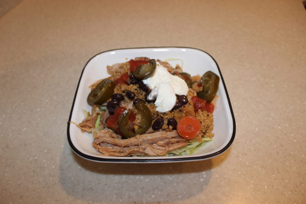 Chipotle Copycat Recipe: Slow Cooker Pork Quinoa Burrito ...