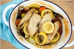 Skinny-Rosemary-Chicken-Brown-Rice