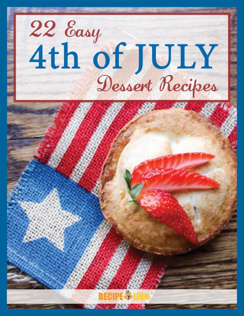 22 Easy 4th of July Dessert Recipes