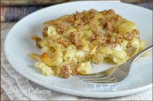 Baked Kugel Mac and Cheese