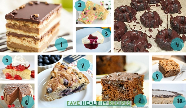 Healthy Cake Recipes