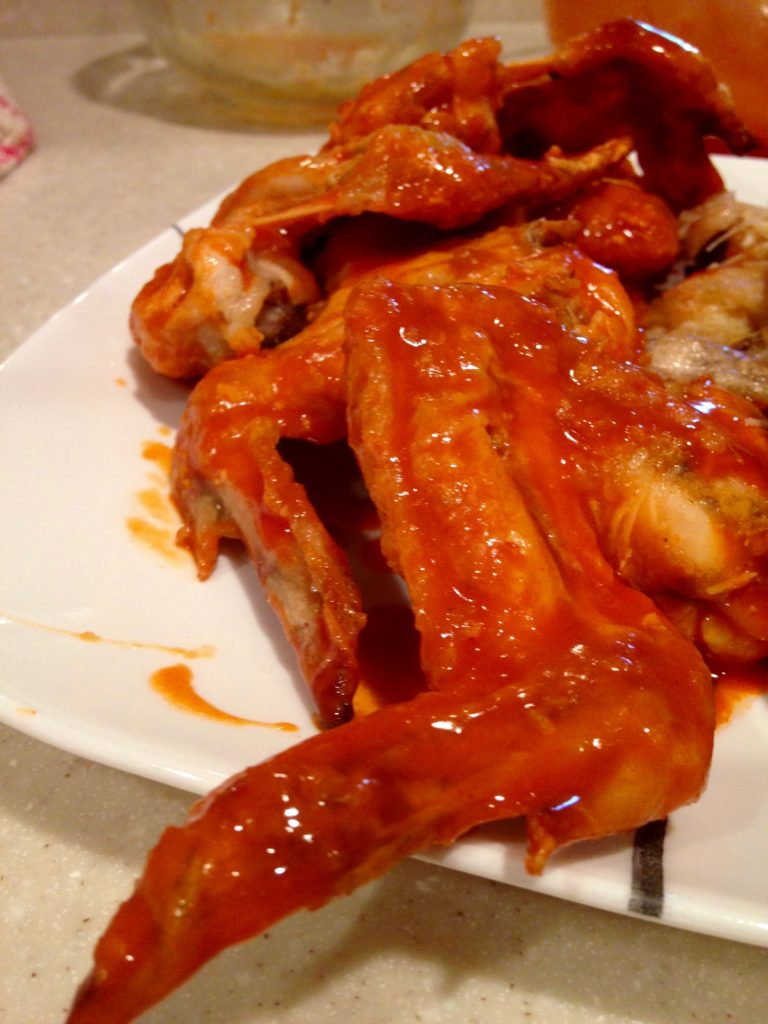Skinny Chicken Wings Recipe