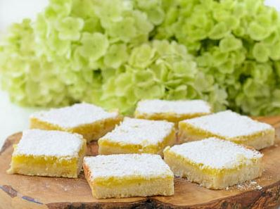 Decadent Lemon Bars
