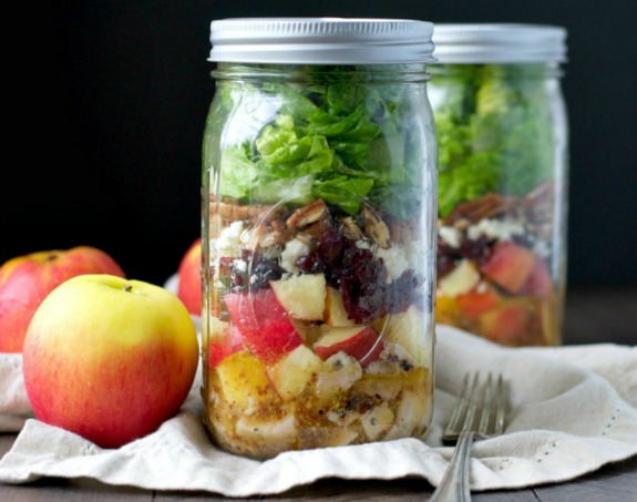 Apple Harvest Mason Jar Salads RC4