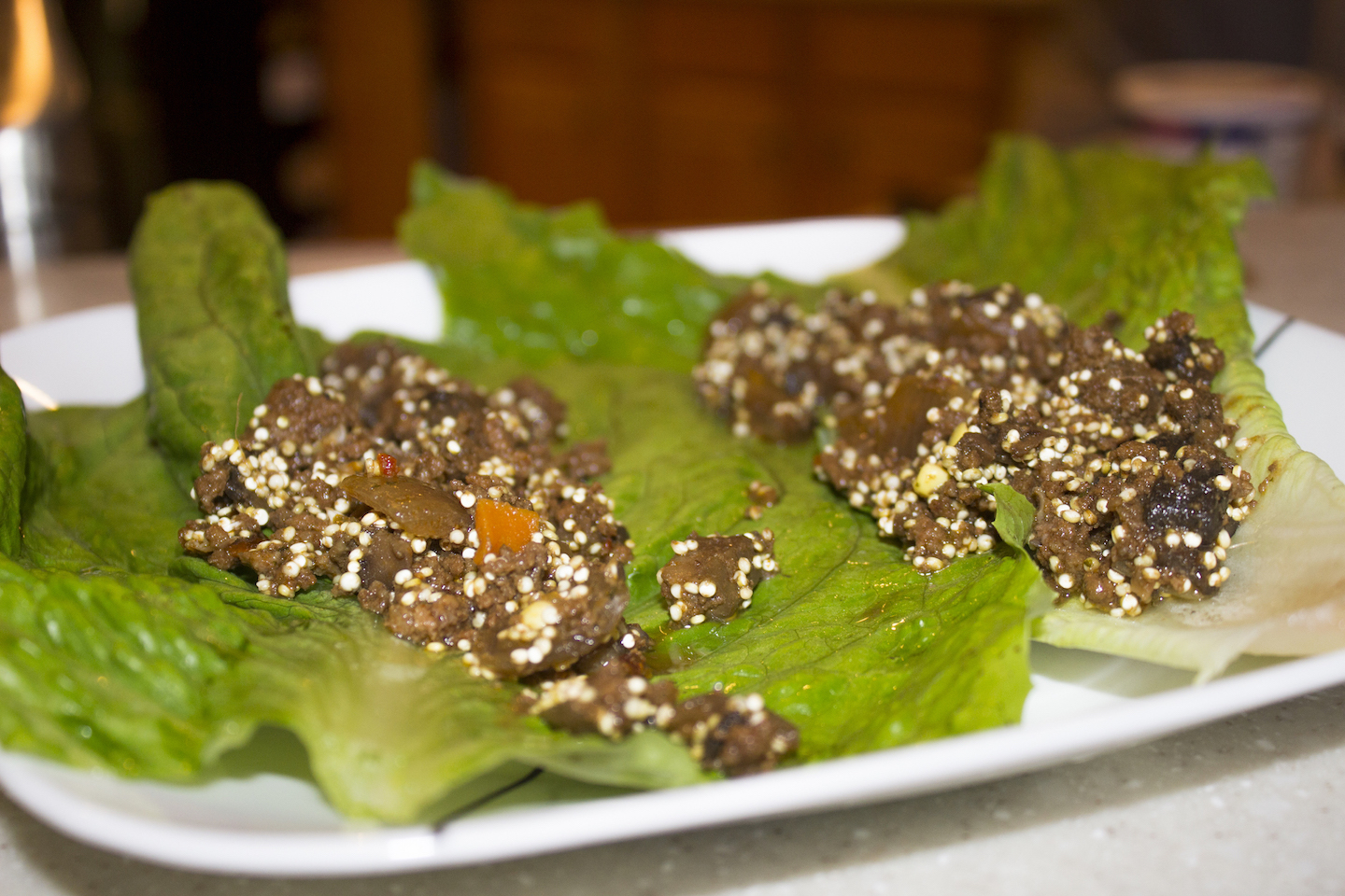 how to make ground beef lettuce wraps
