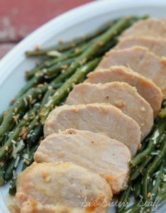 Slow Cooker Pork Tenderloin with Orange Glaze