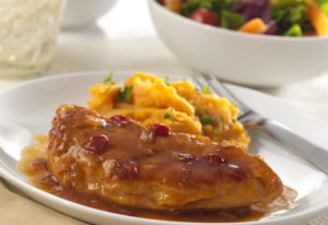 Southern Apple Bourbon Kickin' Chicken