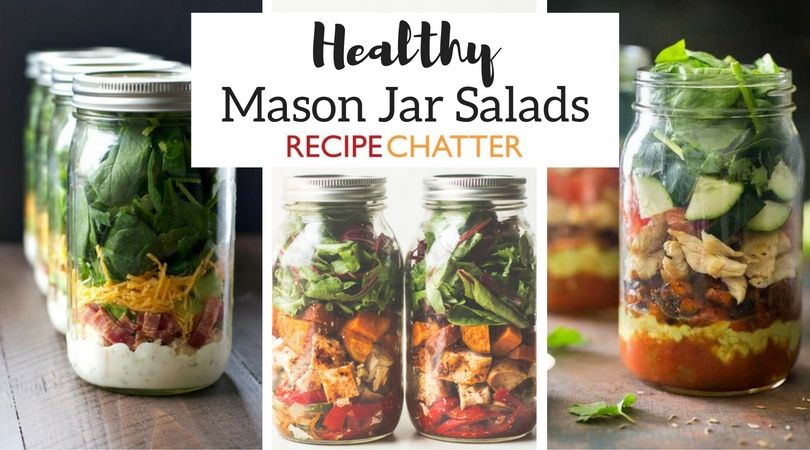Healthy Mason Jar Salad Recipes
