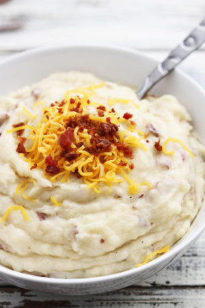 Life-Changing Slow Cooker Mashed Potatoes