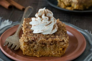 Incredibly Easy Pumpkin Dump Cake