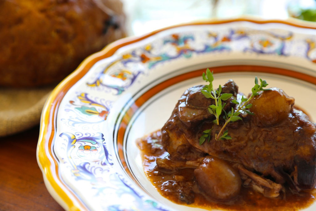 Slower Cooker Coq au Vin a la Julia Child