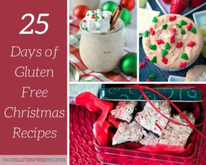 25 Days of Gluten Free Christmas Recipes