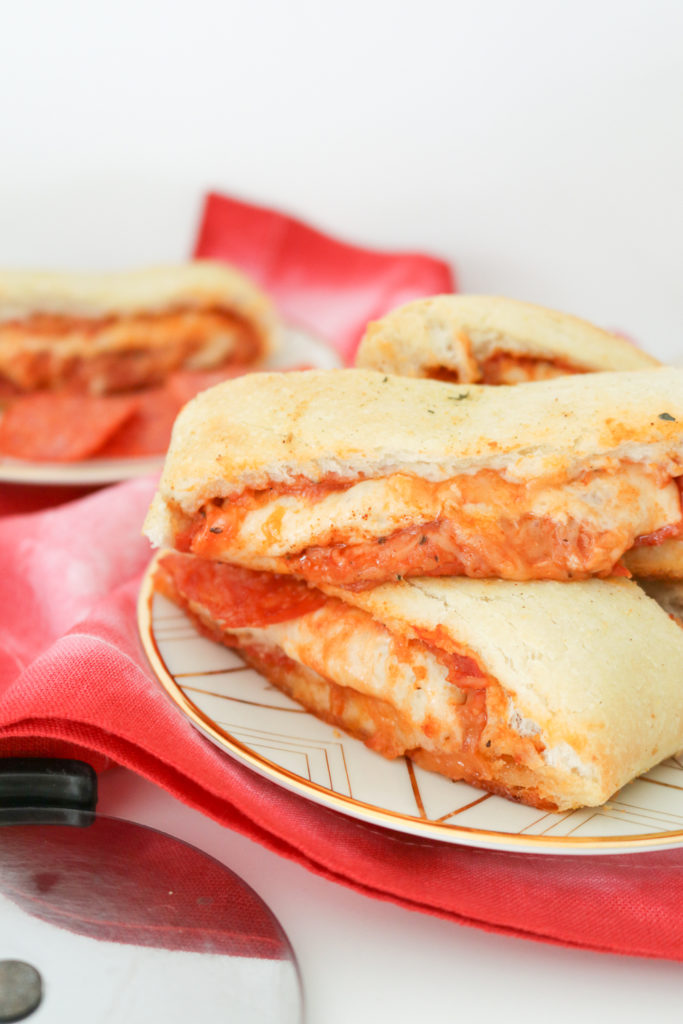 Pepperoni Pizza Roll-Up