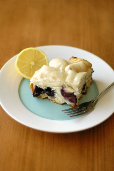 Lemon Blueberry Breakfast Bake