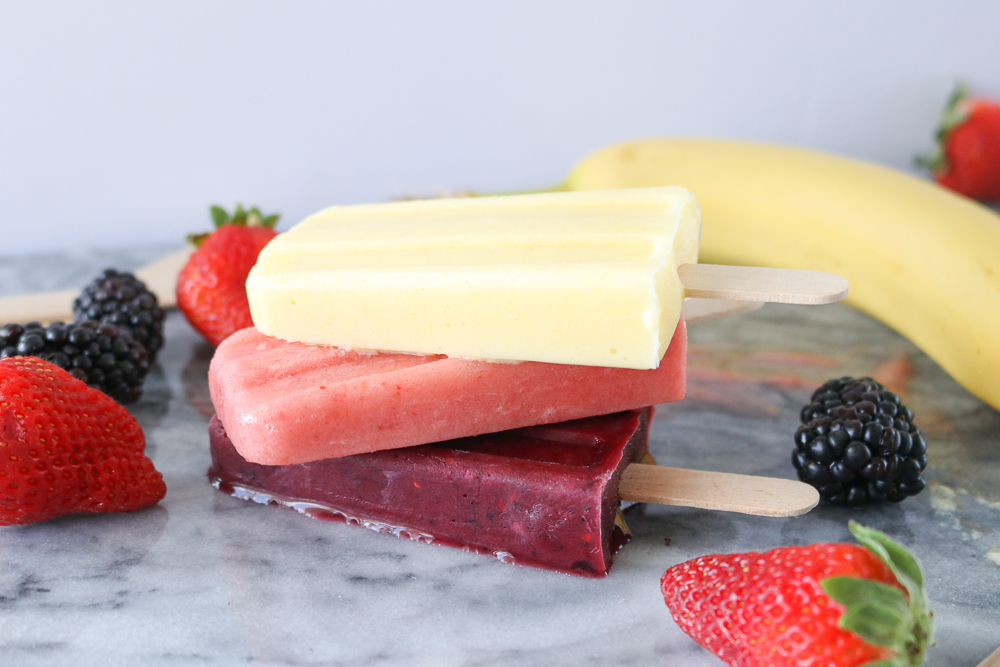 3 Easy Breakfast Smoothie Popsicles