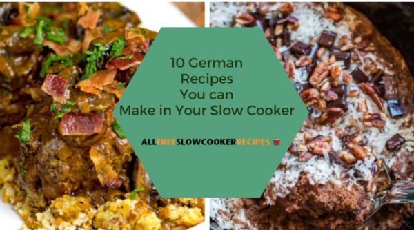 10 German Recipes You can Make in Your Slow Cooker