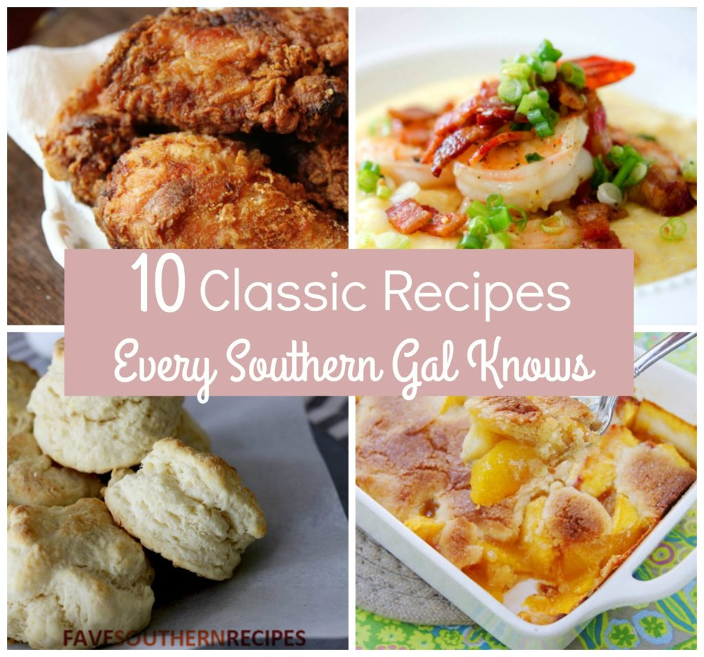 10 Classic Recipes Every Southern Gal Knows